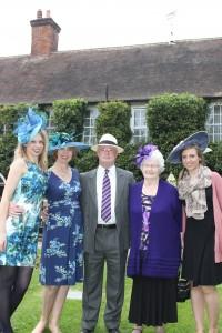 Family in hats - Beverley Edmondson Fashion Farnham