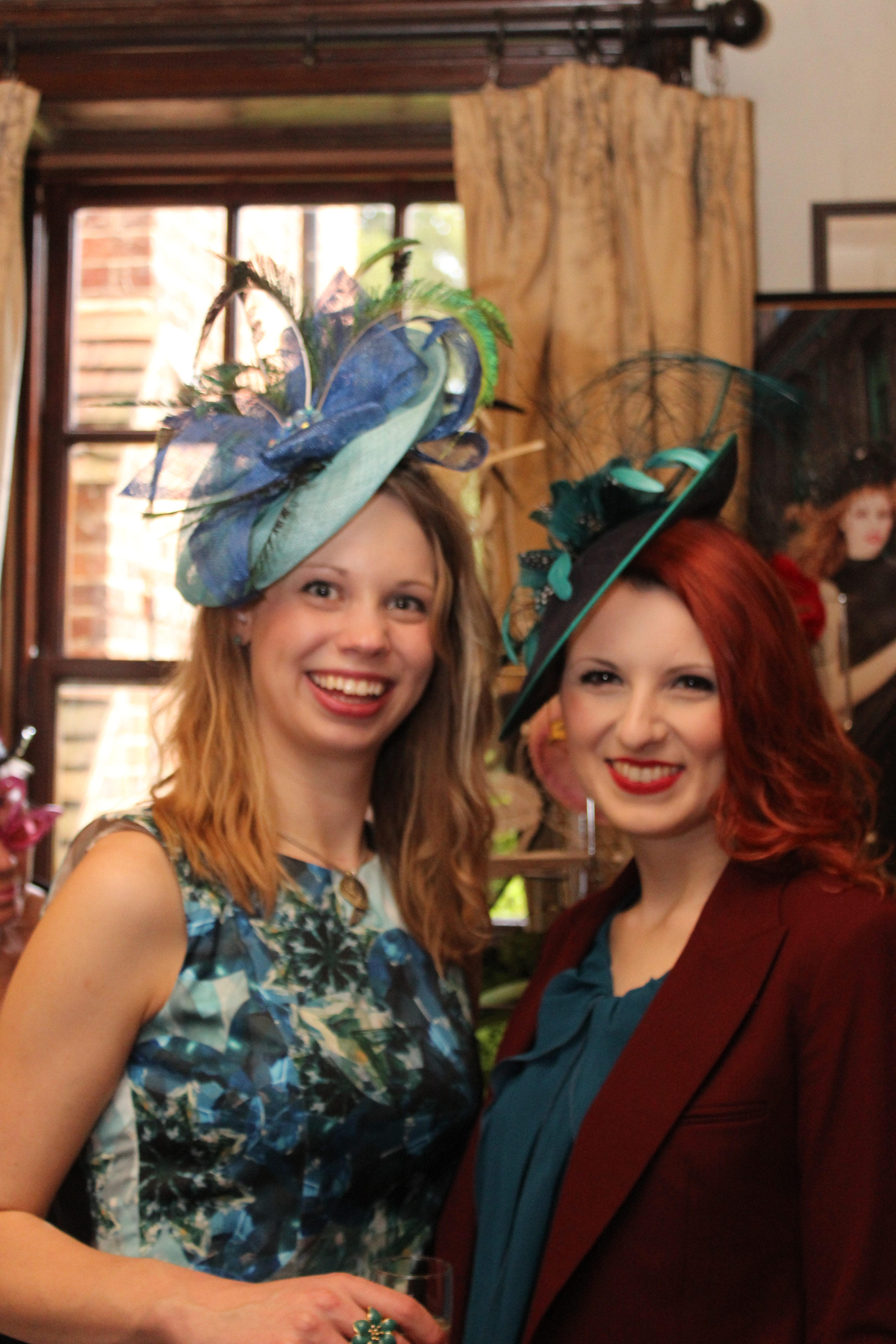 Women in hats - Beverley Edmondson Farnham