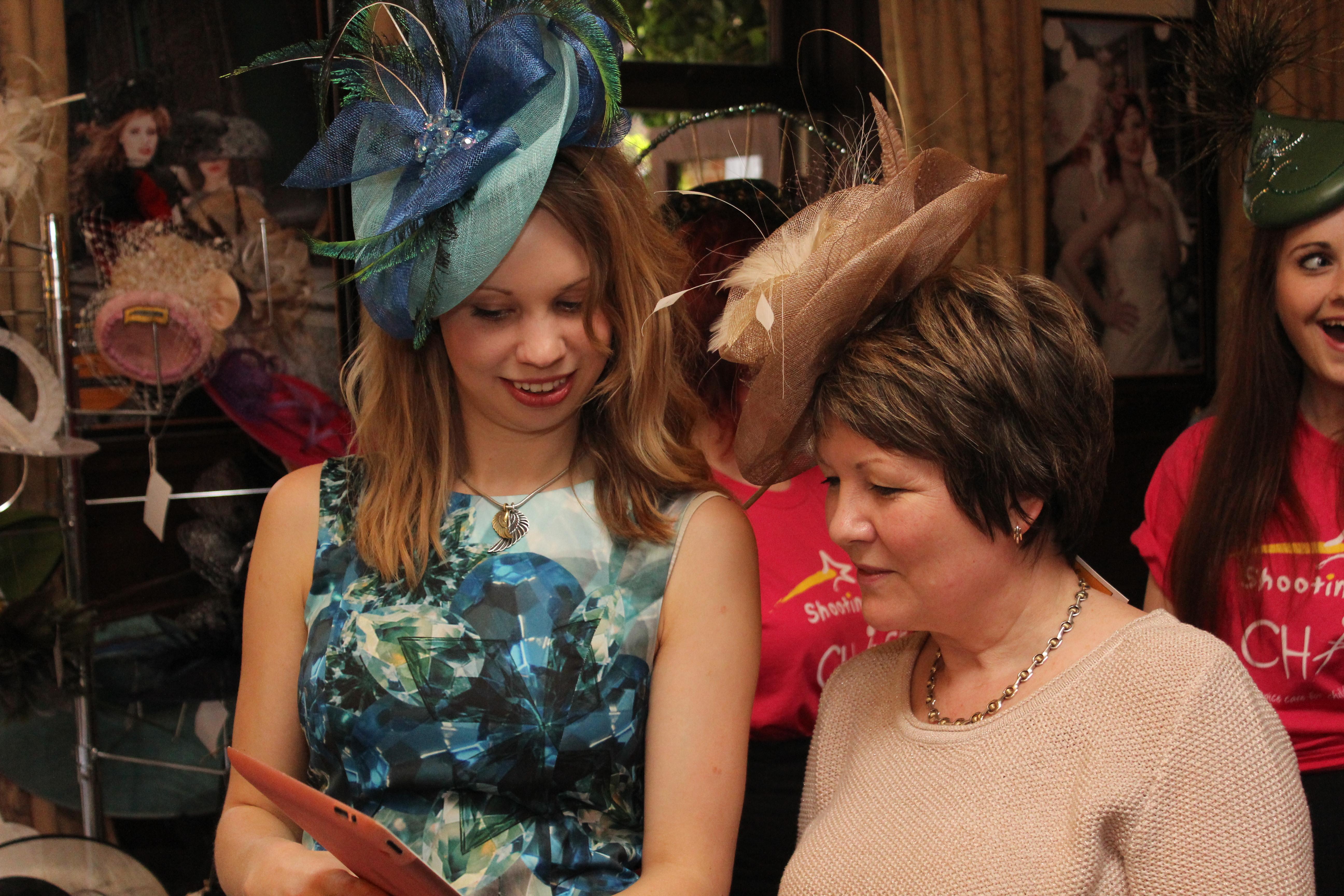 Women in hats - Beverley Edmondson Bespoke hats
