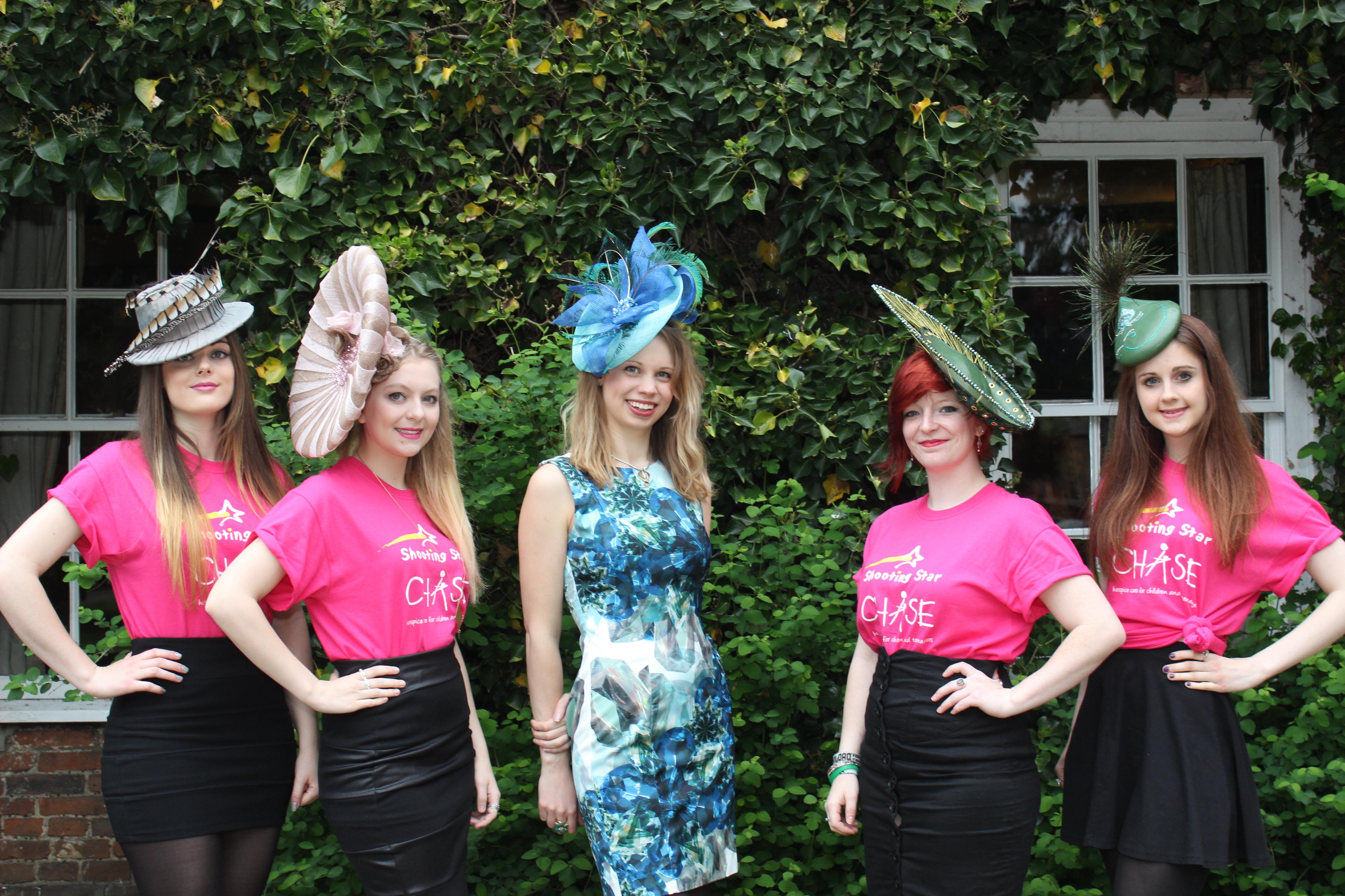 Women in hats - Beverley Edmondson Farnham Fashion