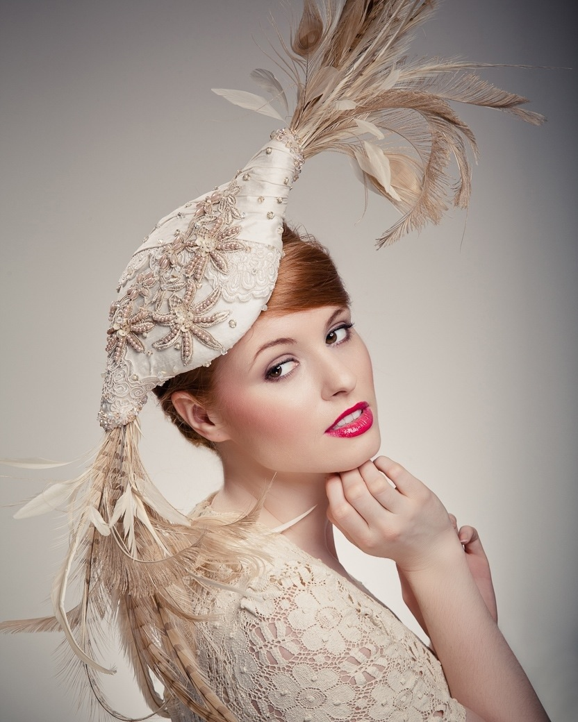 Haute Couture hat - Beverley Edmondson millinery