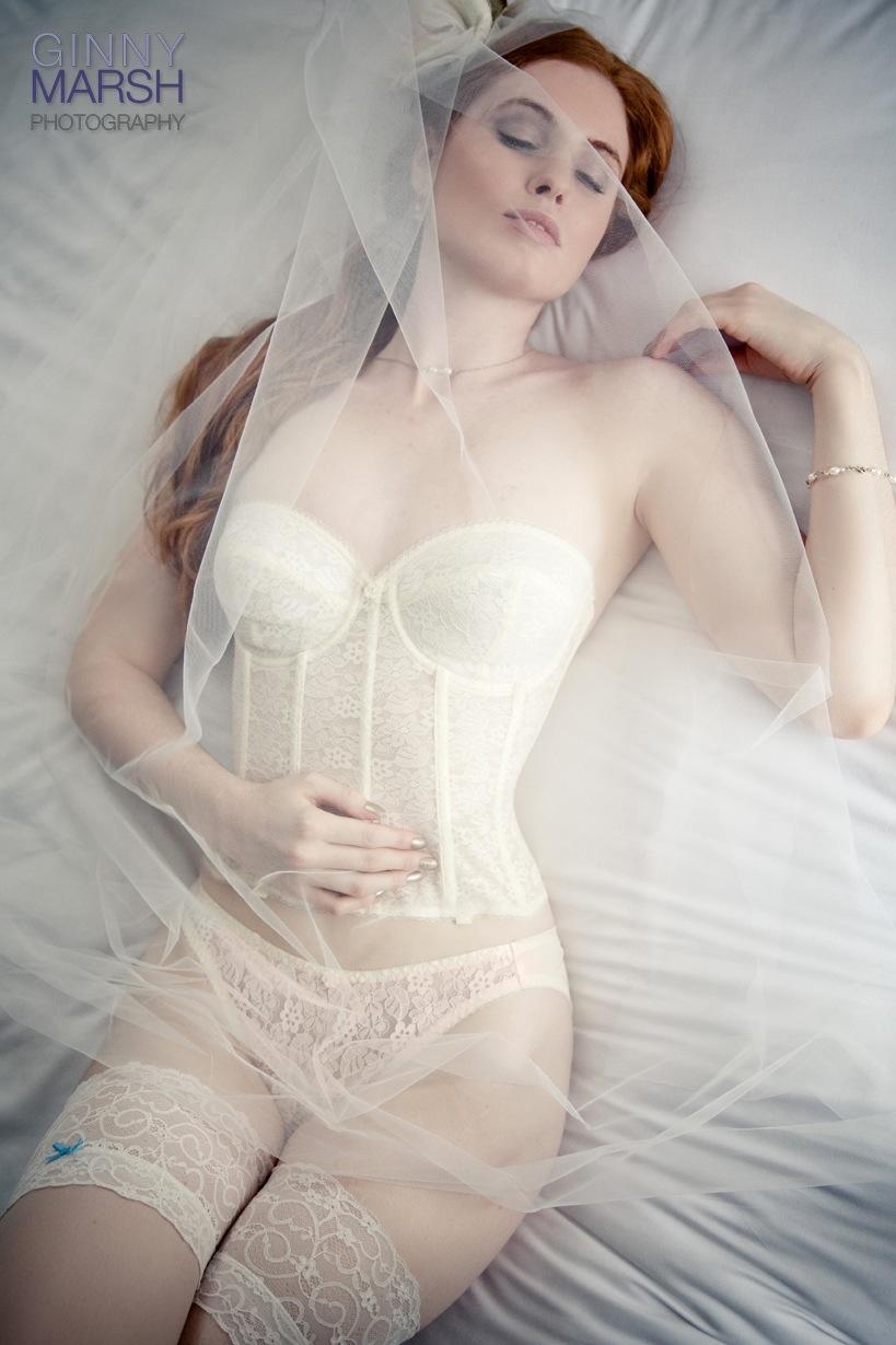 model in underwear - Beverley Edmondson farnham