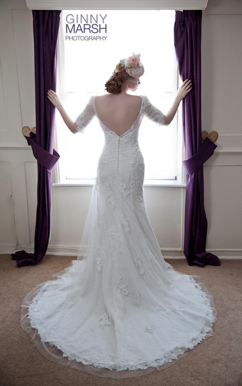 Bride by window - Beverley Edmondson Mother of the Bride