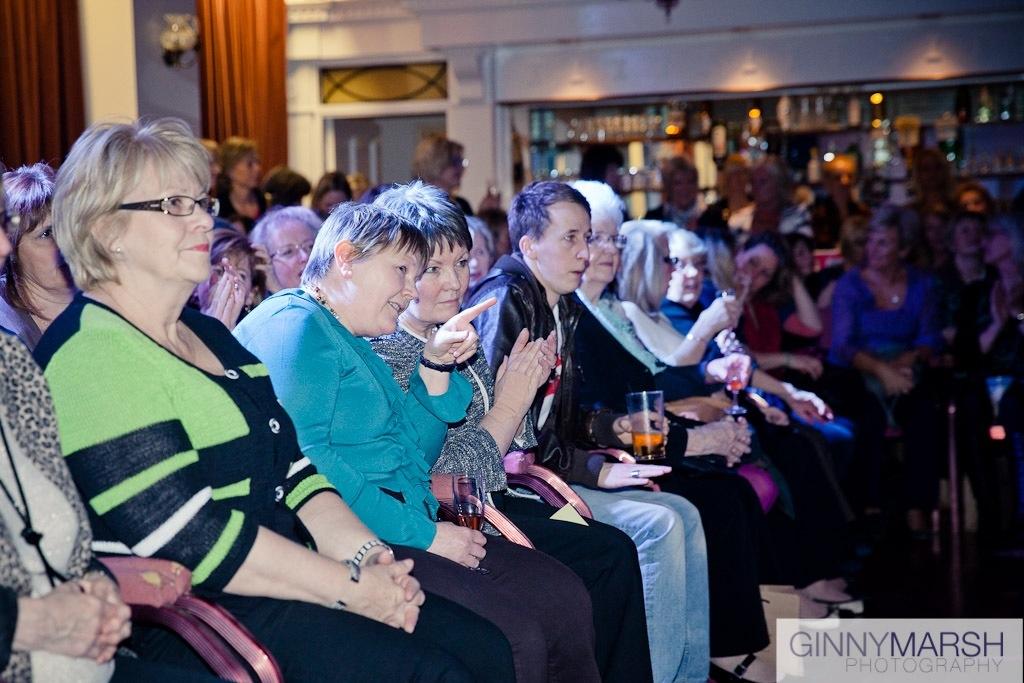 audience members - Beverley Edmondson Fashion show