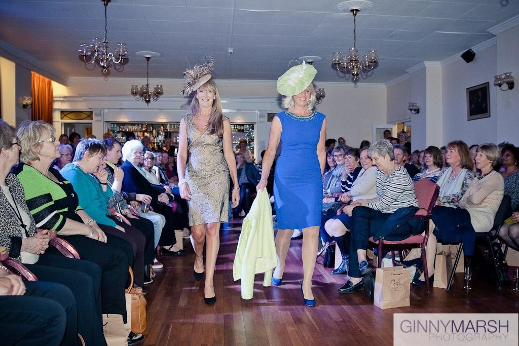 Ladies fashion show - Beverley Edmondson fashion hats