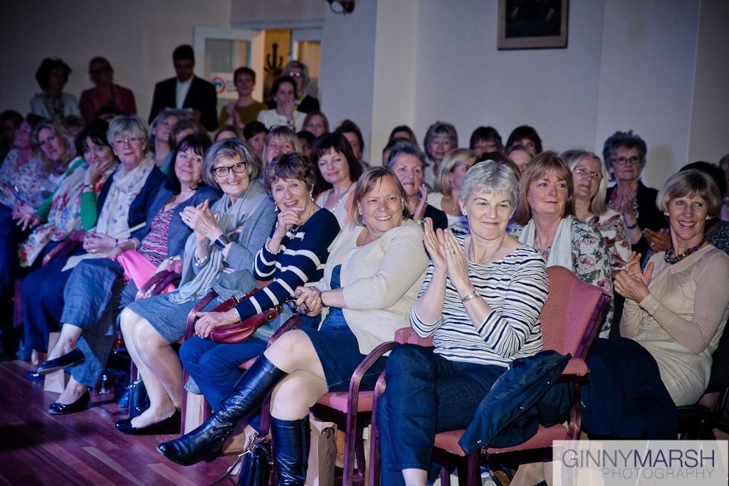 audience - Beverley Edmondson fashion show farnham