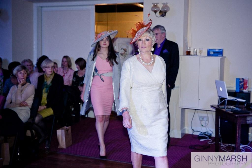 Ladies fashion show - Beverley Edmondson bespoke hats
