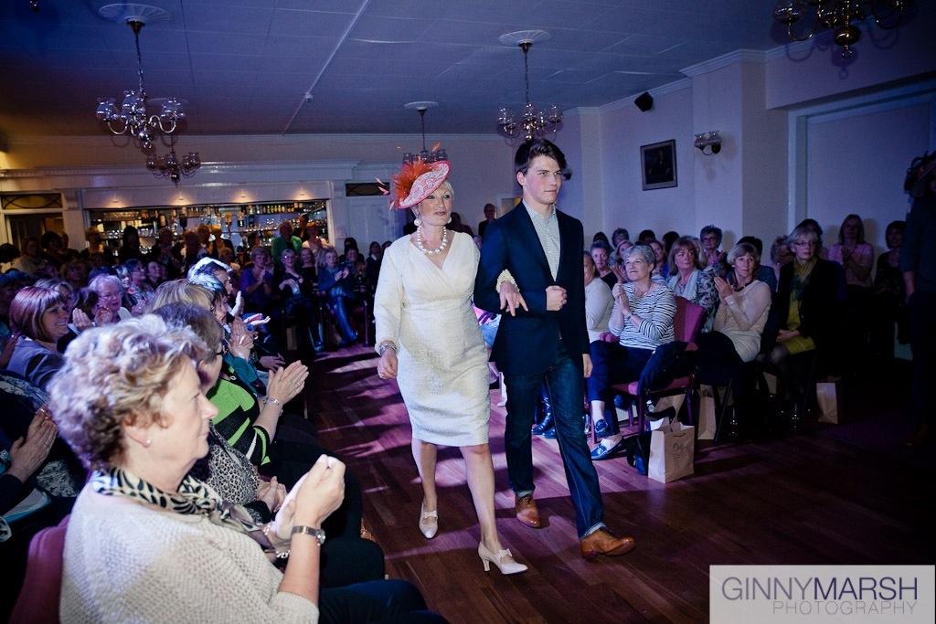 Catwalk - Beverley Edmondson Millinery fashion show
