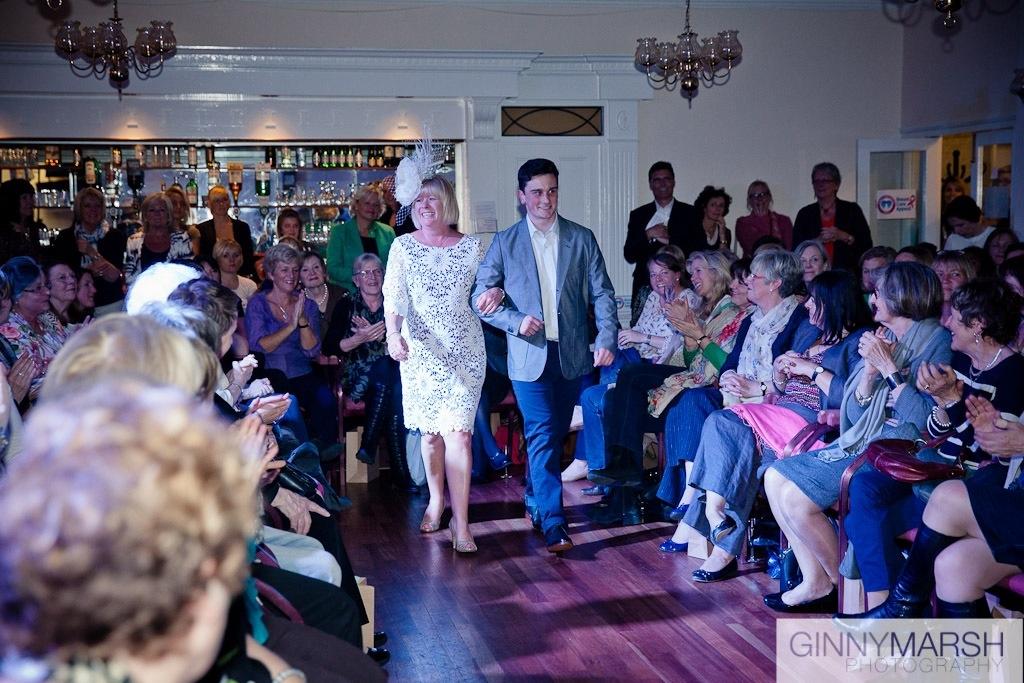 Fashion show - Beverley Edmondson millinery fashion