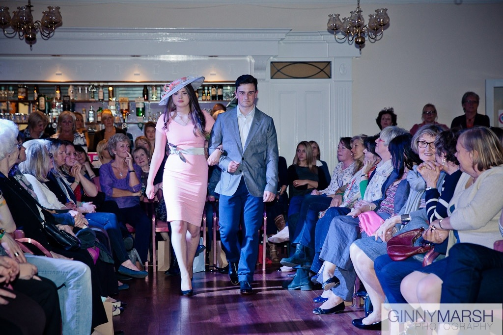 Fashion show - Beverley Edmondson Millinery fashion show