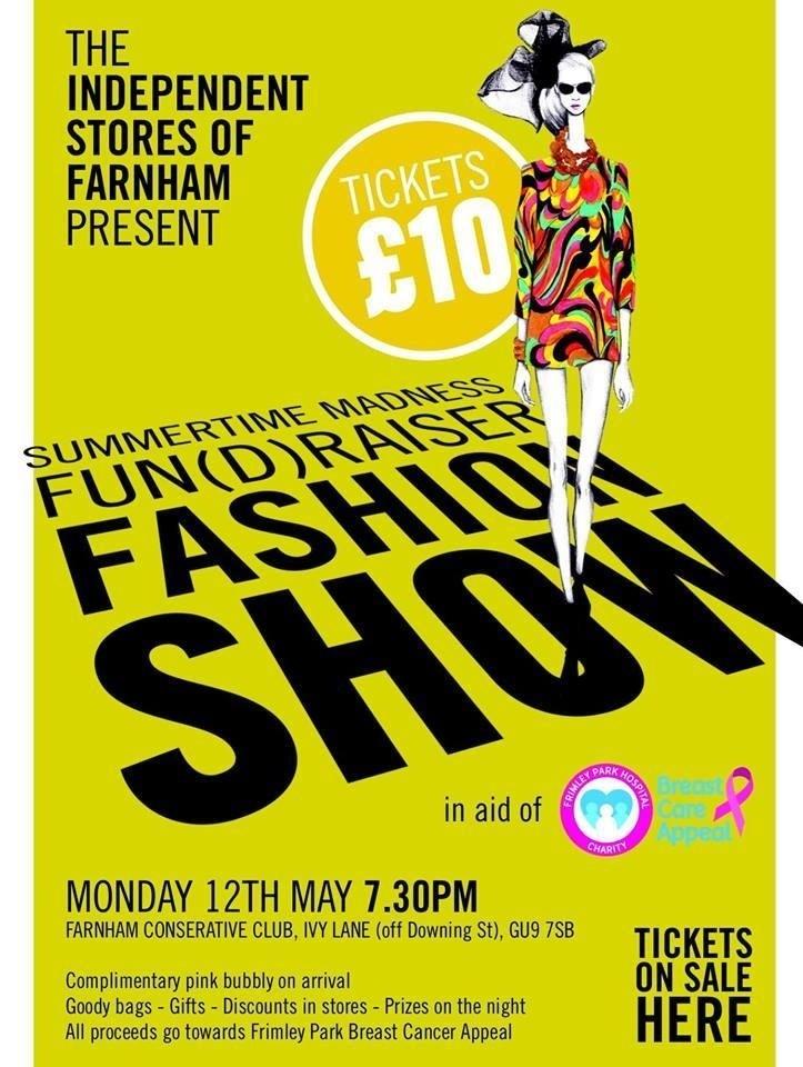 Farnham fashion show - Beverley Edmondson fashion show