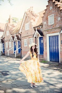 Beverley Edmondson Millinery, Vintage Fashion Shoot, Photography Ginny Marsh