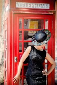 Beverley Edmondson Black cut our brim hat, Photography by Ginny Marsh