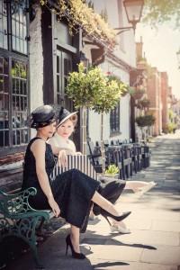 Beverley Edmondson Millinery - Vintage Fashion shoot, Photography Ginny Marsh
