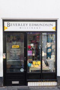 beverley-edmondson-millinery-shop front farnham