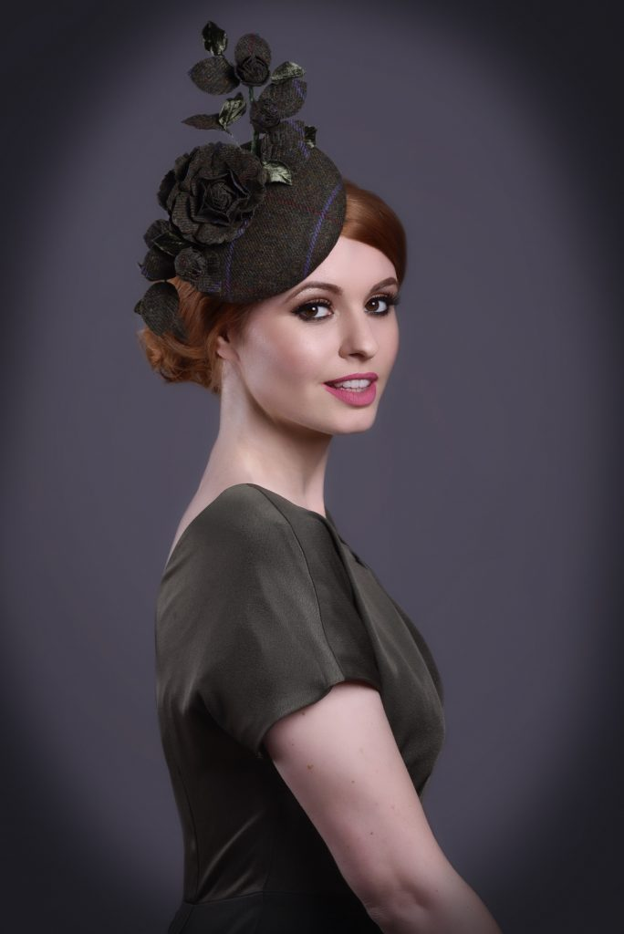 Black Fascinator For Weddings