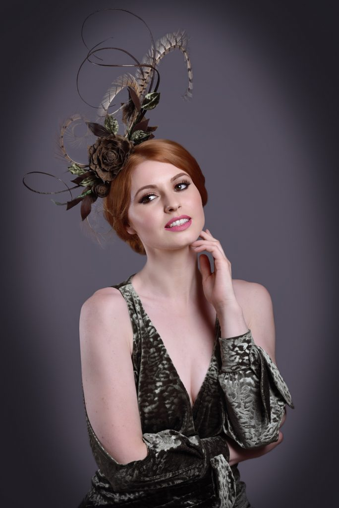 Derby Fascinator Pheasant Feather Headpiece
